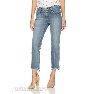 James Jeans Women's Straight Leg Jean with Hi Lo Hem in Victory
