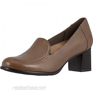 Trotters Women's Quincy Pump Dark Taupe 6.5 W US