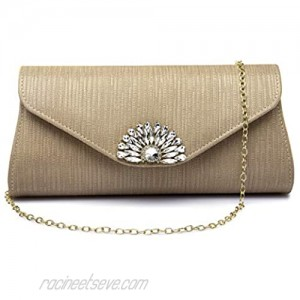 Melody Evening Bags Glass stone Clutch Purses for Women Evening Wedding Party Cocktail Purse Popular Use