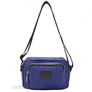 GO!SAC Emerson Quilted Crossbody Bags for Women and Men Quilted Purse for Travel Work Unisex