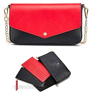 Small Crossbody Bags for Women with Coin Purse and Card Wallet