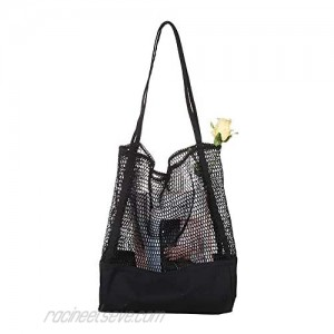 Women's Shopping Bag Travel Tote Bag Casual Canvas Beach Shoulder Bag for Groceries Books