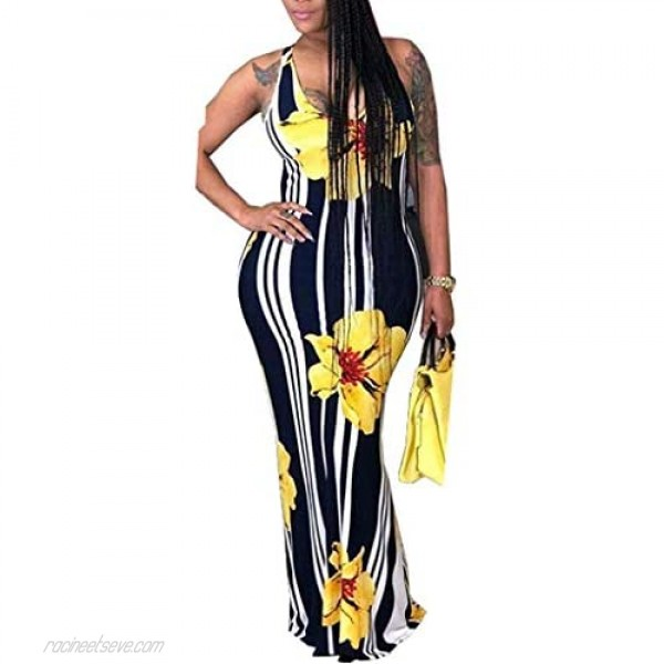 korssyee Womens Sexy Long Maxi Dresses Off The Shoulder Bodycon Party Formal Dress