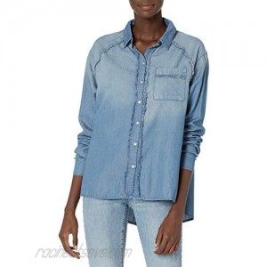 Vintage America Blues Women's Carrie Roll Sleeve Button Down Shirt