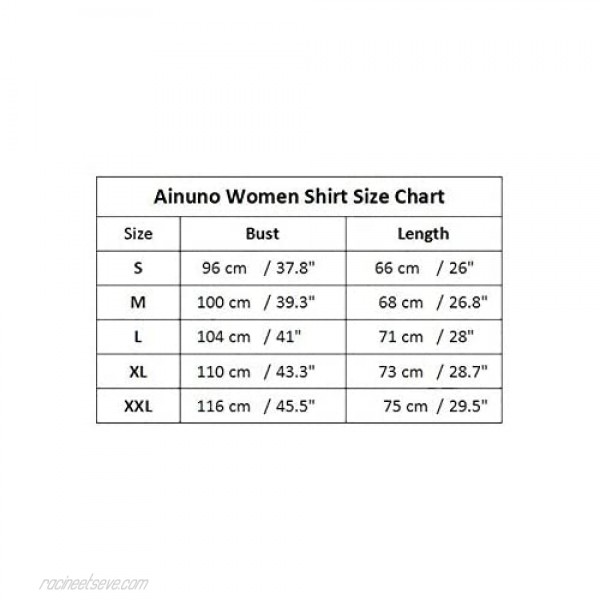 Ainuno Country Shirts for Women Trendy Tops Vintage Graphic Tees Crewneck Tshirt
