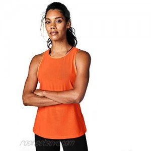 STRONG by Zumba Strong iD Easy Workout Women Athletic Gym Fitness Tank Top Orange Medium